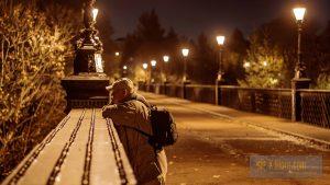 The man on the bridge